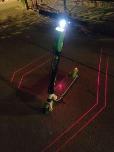 elektrische step verlichting