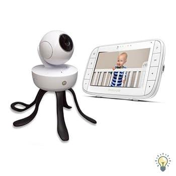 luxe babyfoon met bewegende camera