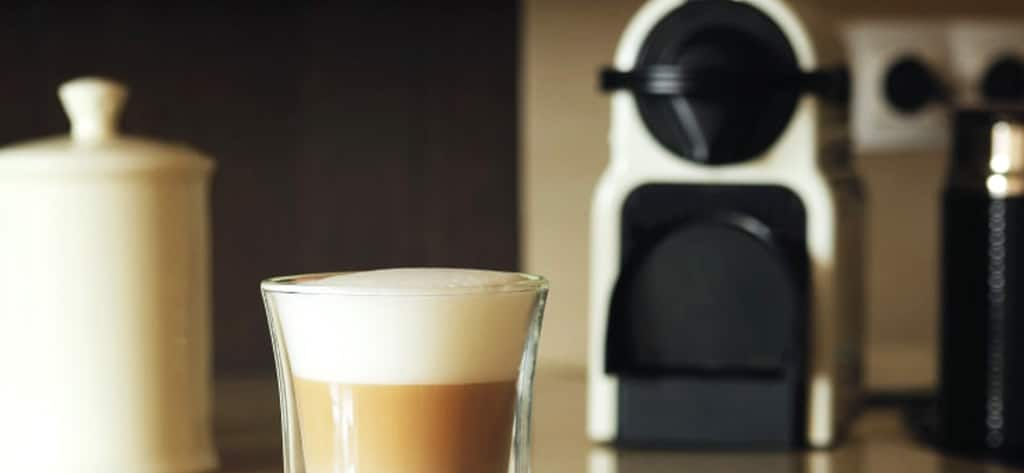 koffiemachine met capsules