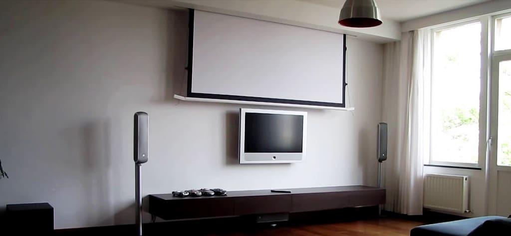 beste projectorscherm