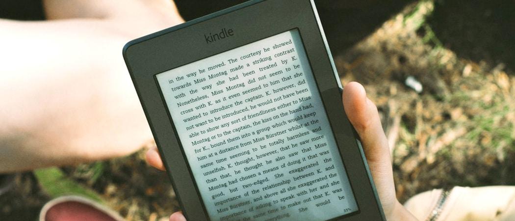 Kindle e reader vergelijken