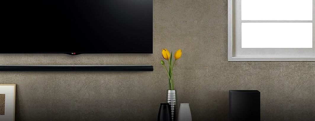 soundbar onder tv
