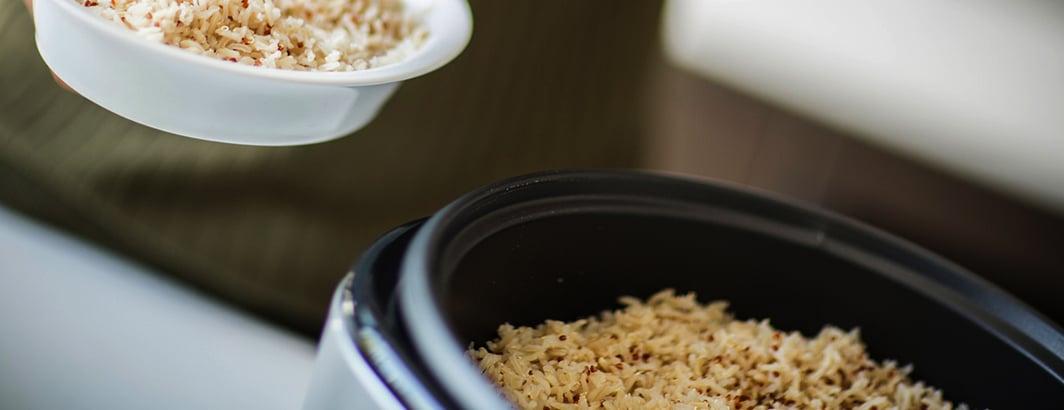 zelf rijst maken rijstkoker vergelijken