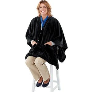 poncho elektrisch deken