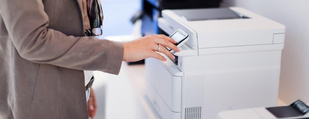 Laserprinter voor kleine zelfstandige