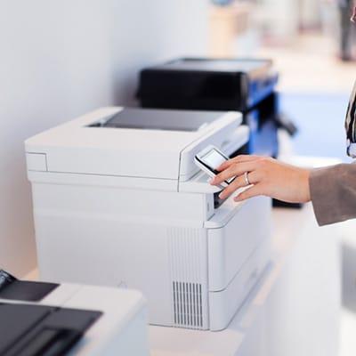 laserprinter voor kantoor