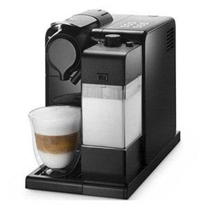 Luxe nespresso machine met melk