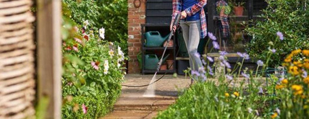 reiniger voor terras hogedruk
