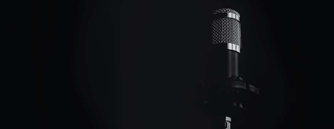 Goede zangmicrofoon