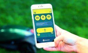 slimme robotmaaier met app