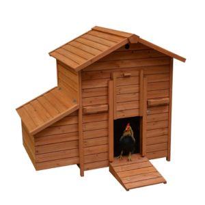 houten kippenkot