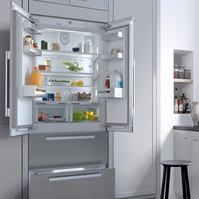 Amerikaanse koelkast french doors ontwerp