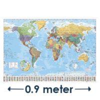 Grote wereldkaart kopen