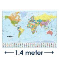 Grote wereldkaarten