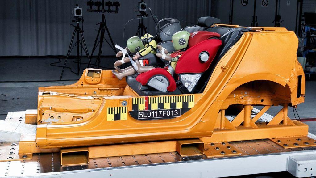 autostoel test