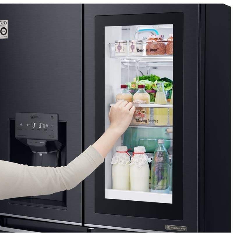 door in door koelkast