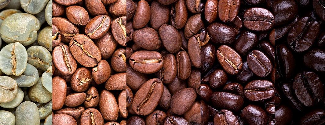 gebrande koffiebonen vergelijken