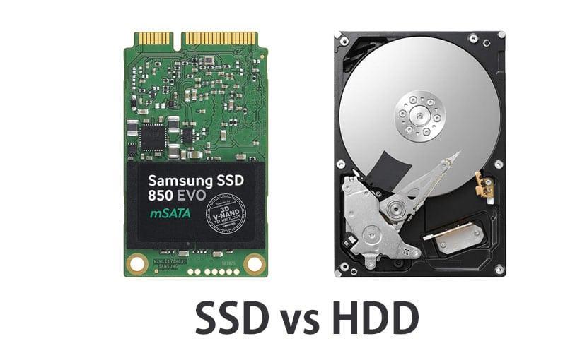 laptop met SSD
