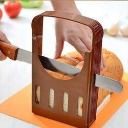 brood snijden met hand