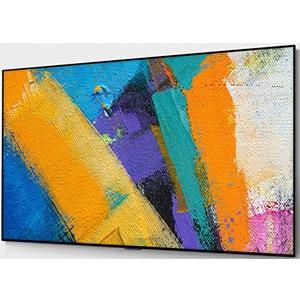 kunstwerk OLED televisie