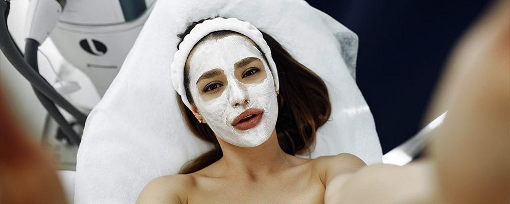 natuurlijk facial masker