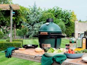 barbecue voor tafel