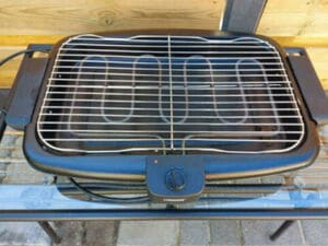elektrische tafelbarbecue