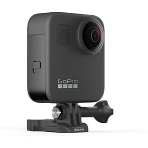 360 graden go pro max camera