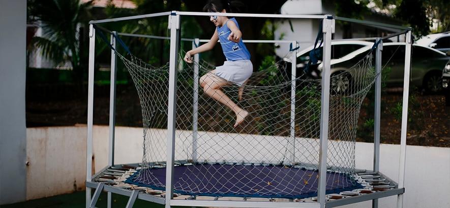 trampoline kopen veilig