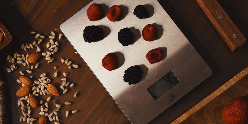 weegschaal voor keuken in grammen