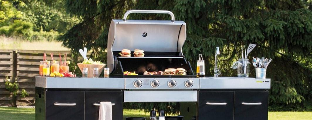 gasbarbecue voor buitenkeuken