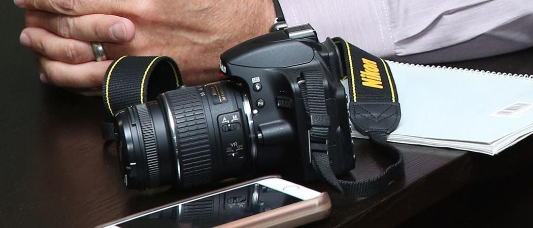 Nikon spiegelreflex om te filmen