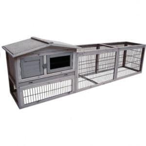 goedkoop konijnenhok hout buiten