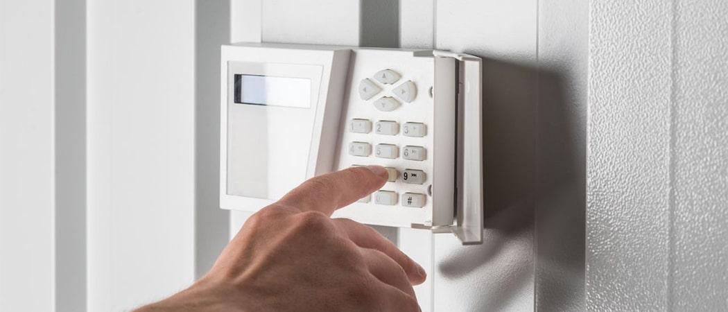 Professioneel alarmsysteem