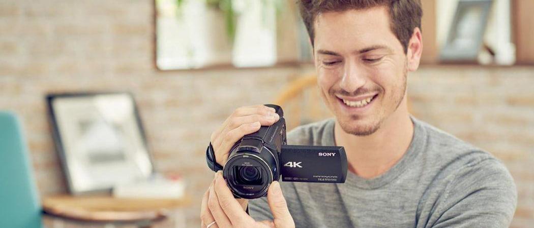 Beste goedkope videocamera