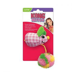 Kong cat kitten pom tail mouse kattenspeeltjes