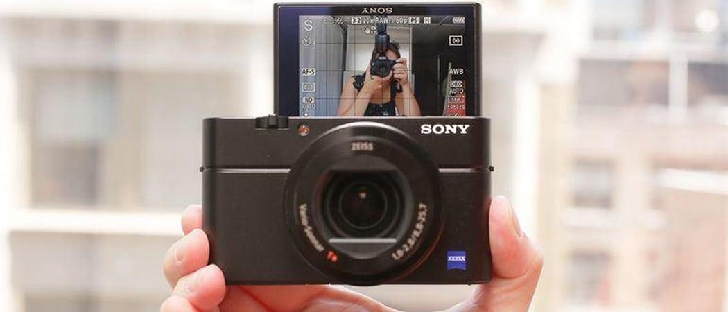 Professionele compact camera