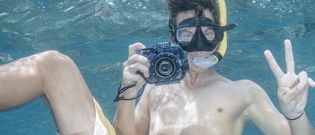 Professionele odnerwatercamera