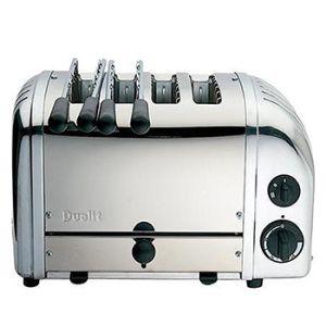 Toaster D47210, NewGen RVS - Dualit broodrooster