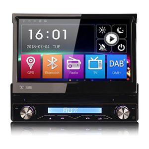 Autoradio klapscherm 1 din met navigatie multimedia