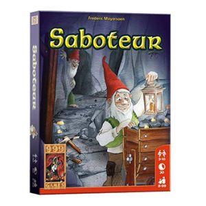Saboteur Basisspel Kaartspel gezelschapsspellen